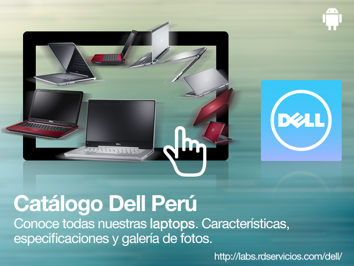 Catálogo DELL Perú App Tablet iPhone Android